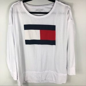 Tommy Hilfiger sport work out top I14